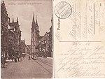AK - Straßenbahn Königstraße - Lorenzkirche - um 1916.jpg