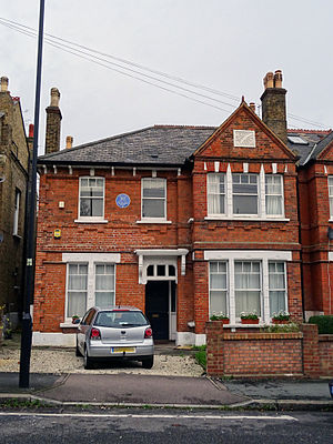 Arthur Mee - Mee's former home in Tulse Hill, London.
