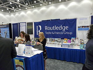 Routledge - 2008 conference booth