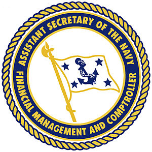 Assistant Secretary of the Navy (Financial Management and Comptroller) - Seal of the Assistant Secretary of the Navy (Financial Management and Comptroller)