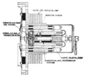 AT&T type 3A mechanical telephone repeater diagram.png