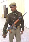 A Indian Paramilitary Soldier with regular INSAS.jpg