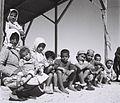 A YEMENITE FAMILY IN THE EZRA UBITZARON QUARTER INRISHON LEZION. משפחת עולים מתימן בשכונת אוהלים חדשה בראשון לציון.D842-006.jpg