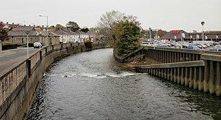 Bridgend town in Wales