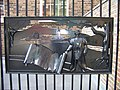 A decorative panel in the railings - geograph.org.uk - 573488.jpg