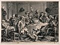 A drunken party with men smoking, sleeping and falling to th Wellcome V0019069.jpg
