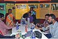 A free medical camp in progress at the Public Information Campaign on Bharat Nirman, at Usthi, South 24 Parganas, West Bengal on February 12, 2012.jpg
