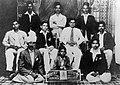 A group photograph of 'Ambedkar Dhyeyawadi Bhajani Mandal.jpg
