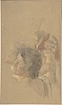 A male and a female figures (study for 'Golgotha') MET DP804014.jpg