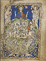 A map of the world - Latin Psalter (13th-15th C), f.9 - BL Add MS 28681.jpg