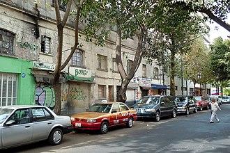 San Miguel Chapultepec - Street in San Miguel Chapultepec