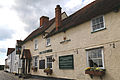 A view east of the Nags Head public house on Church Road, Moreton village, Essex, England.jpg