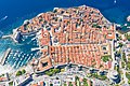 A view from above of the city wall of Dubrovnik, Croatia (48613148647).jpg
