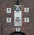 Aan de kerk van Hurdegaryp..jpg