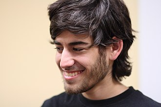 Aaron Swartz - Swartz at a meetup in August 2009