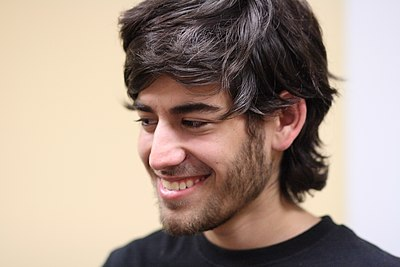 Picture of an author: Aaron Swartz
