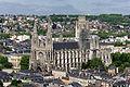 Abbatiale Saint-Ouen vue depuis la cathédrale Notre-Dame de Rouen.jpg