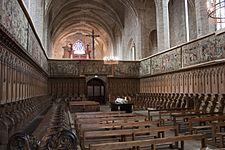 Choeur De Labbaye Avec Le Tombeau Du Pape Clement VI