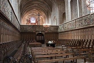 Pope Clement VI - Image: Abbaye Saint Robert de La Chaise Dieu Stalles VG 201121007