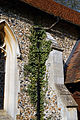 Abbess Roding - St Edmund's Church - Essex England - nave south buttress and drainpipe.jpg