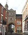 Abbey Gateway, Romsey - geograph.org.uk - 615725.jpg