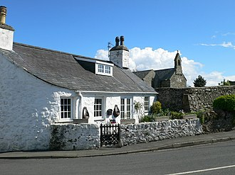 Abererch - Image: Abererch cottage geograph.org.uk 1289591