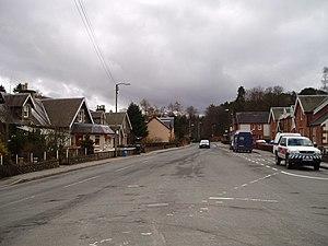 Abington, South Lanarkshire - Image: Abington Main Street geograph.org.uk 145180
