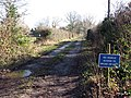 Access road to Willow Farm - geograph.org.uk - 1151775.jpg