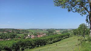 Acquin-Westbécourt - A general view of Acquin-Westbécourt