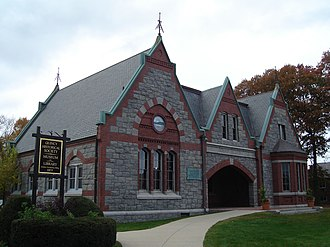 National Register of Historic Places listings in Quincy, Massachusetts - Image: Adams Academy