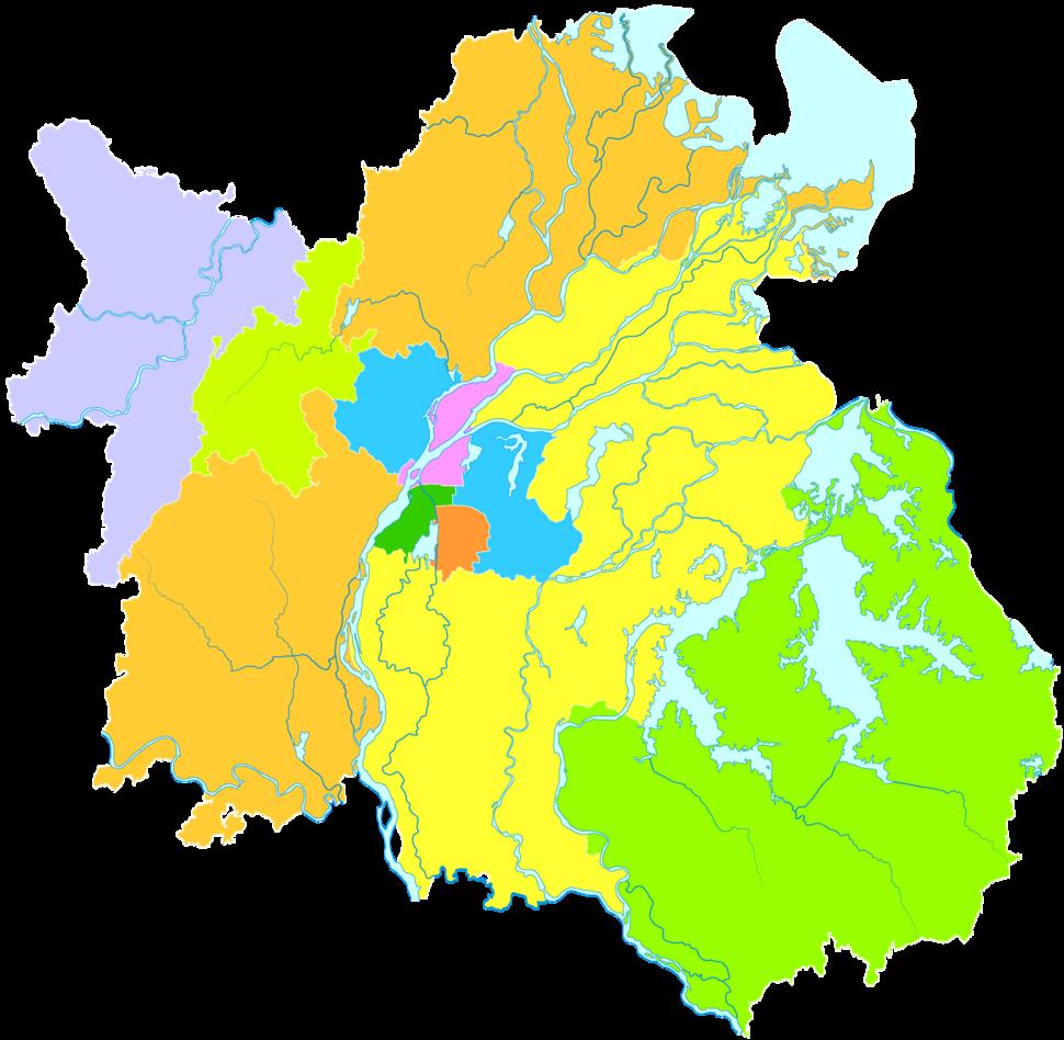 Administrative Division Nanchang 2