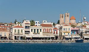 Aegina harbour 1