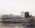 Aerodrome and windbreak fence of the Department of Transportation at the 1904 World's Fair.jpg