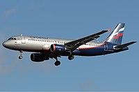 VQ-BAX - A320 - Aeroflot