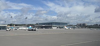 Luxembourg Airport - Image: Aeroport Findel Luxembourg terminal A 01