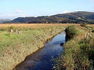 Afon Llyfnant - The Afon Llyfnant near Eglwys Fach