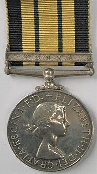 Africa General Service Medal with clasp 'Kenya', obverse.jpg