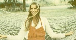 Agneta Frieberg - Frieberg in her parents' backyard in Sweden in 1967