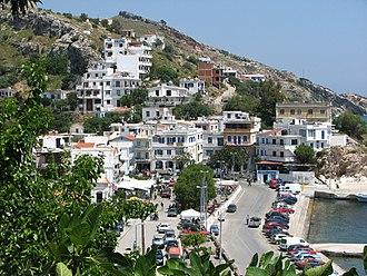 Agios Kirykos - View of the port