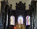 Ahun - Église Saint-Sylvain - Choeur - Boiseries et tabernacle.JPG