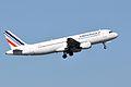 Air France, Airbus A320-211, F-GKXA - CDG (18568767426).jpg
