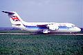 Air UK BAe-146-200; G-CNMF, April 1988 (5887456477).jpg