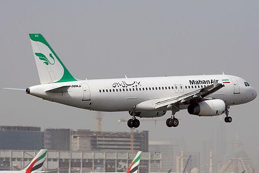 Airbus A320-232, Mahan Air AN1211372