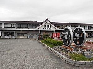 会津若松駅's relation image
