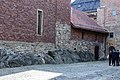 Akershus fortress, Castle church inner yard.jpg