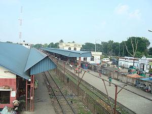 Akhaura Upazila - Akhaura Railway Station.