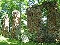 Alūksne Castle convent building wall.jpg