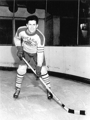 Al Suomi - Al Suomi, in 1937 with the Chicago Hornets of the Arena Hockey League.