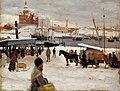 Albert Edelfelt - Talvipäivä kauppatorilla, harjoitelma.jpg
