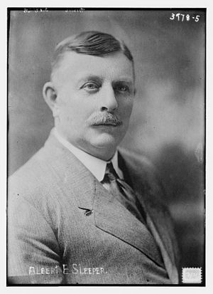 Albert Sleeper - Sleeper in 1916
